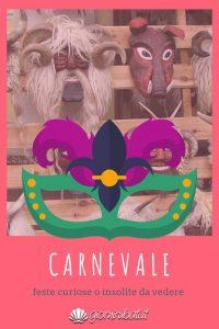 Carnevale curioso maschere