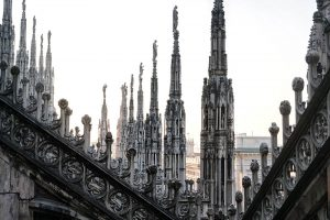 terrazze Duomo di Milano guglie