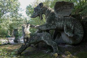 il drago-sacro bosco di Bomarzo