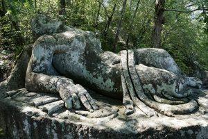 parco dei mostri di Bomarzo-scultura