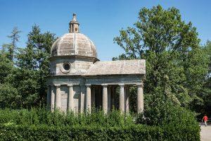 sacro bosco di Bomarzo il tempio