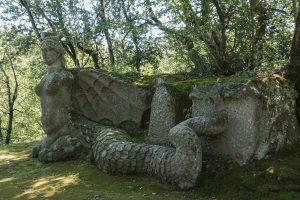 sacro bosco di Bomarzo-scultura