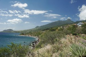 litorale di Saint Kitts