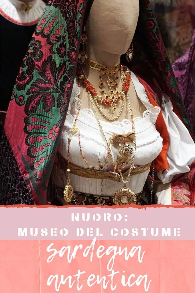 Museo Costume Nuoro, abito, pinterest