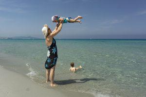 Sa Petra Ruja, spiaggia con i bambini