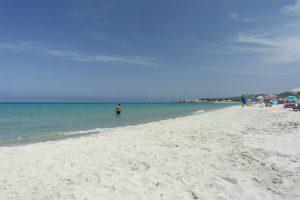 Sa Petra Ruja, la spiaggia