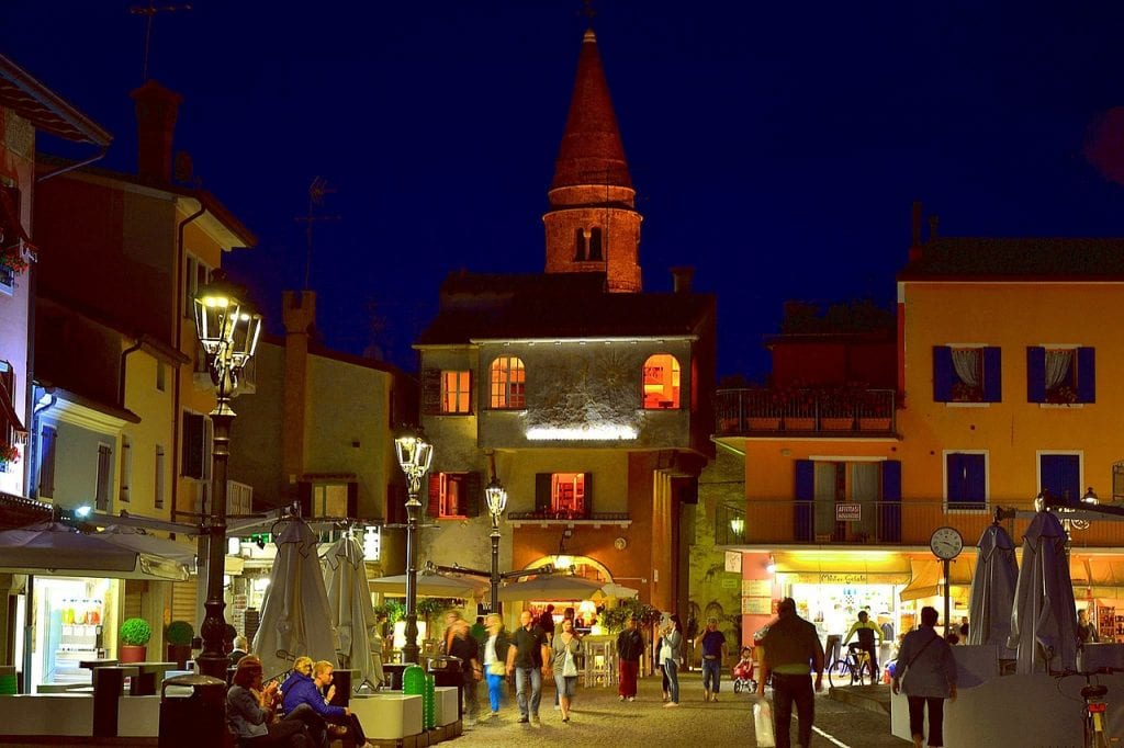 Caorle, centro storico