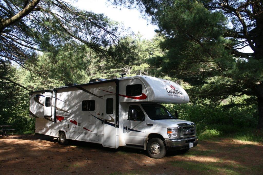 camper Algonquin Park