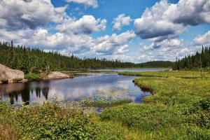 Algonquin Park, Canada, lago