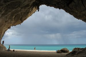 Calal Luna, vista della grotta