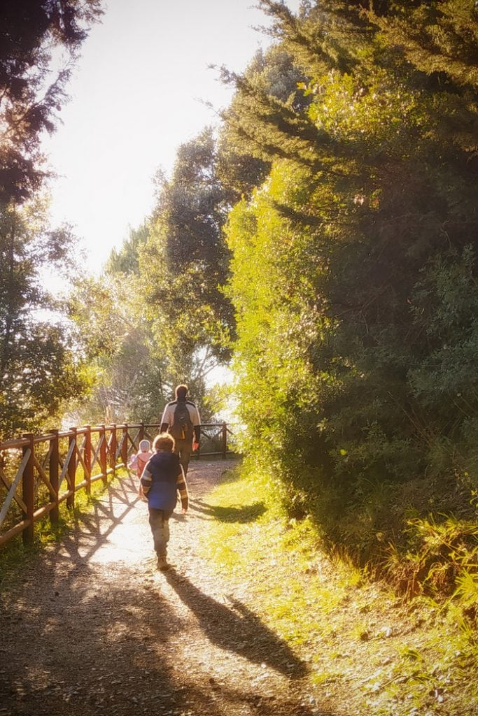 sentiero di Falconara di Lerici