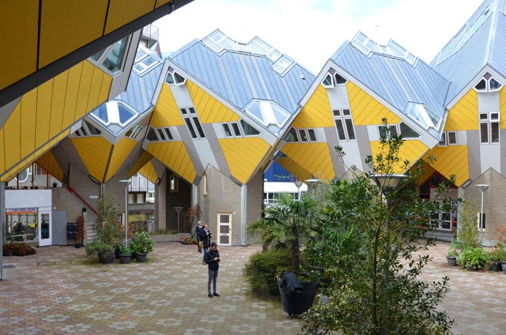 Kubushuis cortile interno