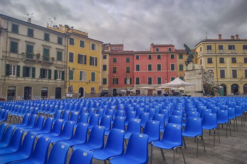 Sarzana piazza Matteotti